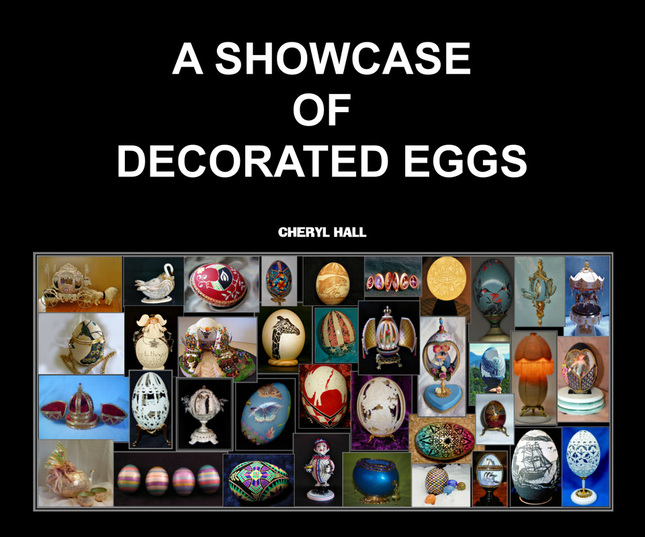 A SHOWCASE OF DECORATED EGGS